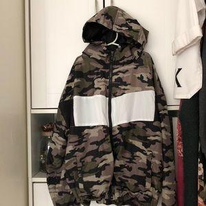 The 21 army windbreaker jacket